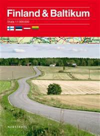 Finland och Baltikum 1:1,5 milj