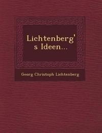 Lichtenberg's Ideen...