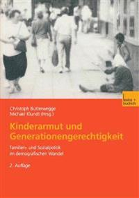 Kinderarmut Und Generationengerechtigkeit