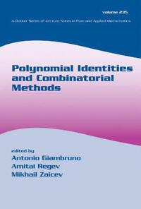 Polynomial Identities and Combinatorial Methods