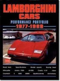 Lamborghini Cars Performance Portfolio 1977-1989