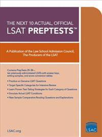 The Next 10 Actual, Official LSAT PrepTests