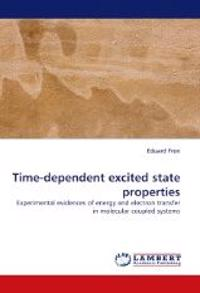 Time-dependent excited state properties