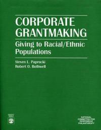 Corporate Grantmaking