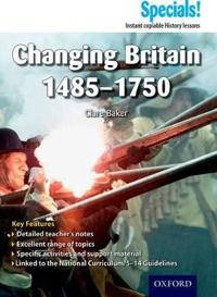 Secondary specials!: history - changing britain 1485-1750