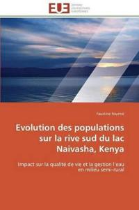 Evolution Des Populations Sur La Rive Sud Du Lac Naivasha, Kenya