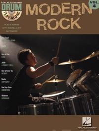 Drum Play - Along Volume 4 Modern Rock Drums (Book/CD)