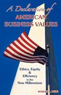 A Declaration of American Business Values