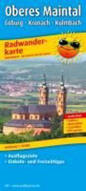 Radwanderkarte Oberes Maintal /Coburg - Kronach - Kulmbach 1:75 000