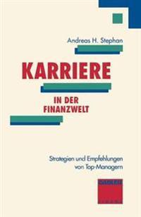Karriere in Der Finanzwelt