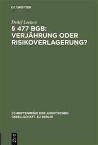 § 477 Bgb