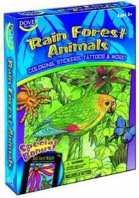 Rain Forest Animals Coloring Book