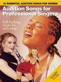 Audition songs for professional female singers - 31 essential audition song