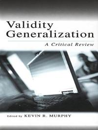 Validity Generalization