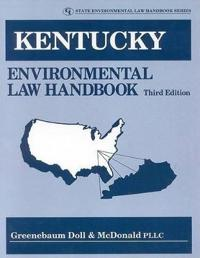 Kentucky Environmental Law Handbook
