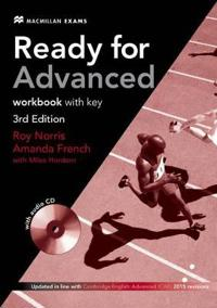 Ready for Advanced 3rd Edition Workbook with Key Pack