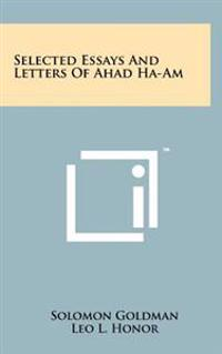 Selected Essays and Letters of Ahad Ha-Am