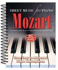 Wolfgang Amadeus Mozart Sheet Music for Piano
