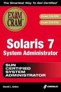 Solaris 7 System Administrator Sun Certified System Administrator