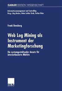 Web Log Mining Als Instrument Der Marketingforschung