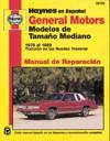 General Motors Modelos De Tamano Mediano (70 - 88)