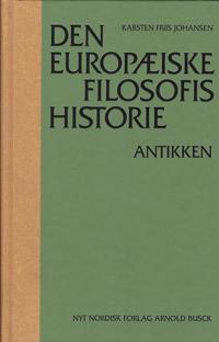 Den europæiske filosofis historie-Antikken