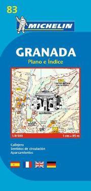 Granada - Michelin City Plan 83