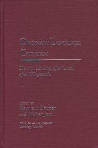 Ordinary Language Criticism