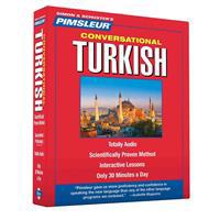Pimsleur Turkish Conversational Course - Level 1 Lessons 1-16 CD: Learn to Speak and Understand Turkish with Pimsleur Language Programs [With Free CD