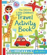 Little Children's Travel Activity Book