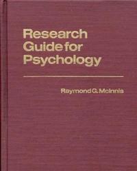 Research Guide for Psychology