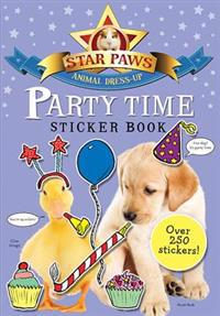 Party Time Sticker Book