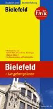 Falk Stadtplan Extra Standardfaltung Bielefeld 1 : 20 000