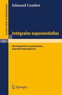 Integrales Exponentielles