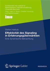 Effektivitat Des Signaling in Erfahrungsgutermarkten