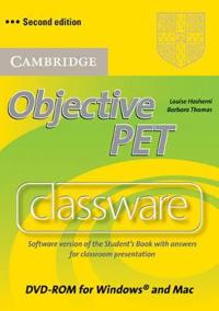 Objective PET Classware DVD-ROM with answers