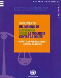 Supplement to the Handbook for Legislation on Violence Against Women