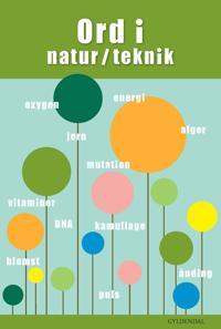 Ord i natur/teknik