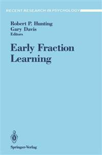 Early Fraction Learning