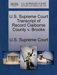 U.S. Supreme Court Transcript of Record Claiborne County V. Brooks