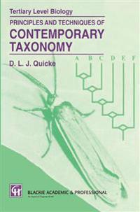 Principles and Techniques of Contemporary Taxonomy