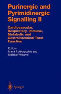 Purinergic and Pyrimidinergic Signalling II: Cardiovascular, Respiratory, Immune, Metabolic and Gastrointestinal Tract Function