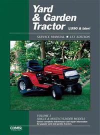 CL Yard & Garden Tractor 1990 Lat V3