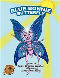 Blue Bonnie Butterfly