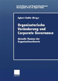 Organisatorische Veranderung und Corporate Governance
