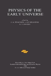 Physics of the Early Universe