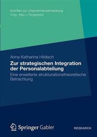 Zur Strategischen Integration Der Personalabteilung