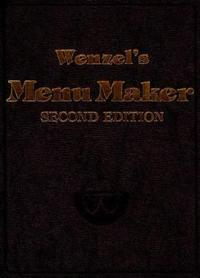 Wenzel's Menu Maker, 2nd Edition