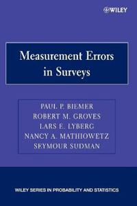 Measurement Errors in Surveys