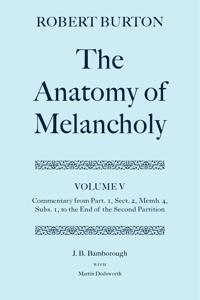Robert Burton: The Anatomy of Melancholy